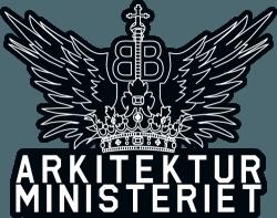 Arkitekturministeriet logo